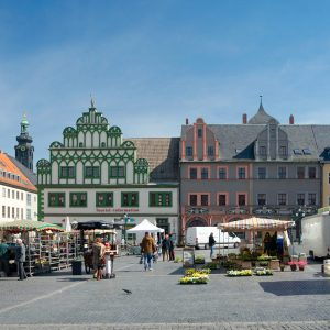 Weimar-marktplatz